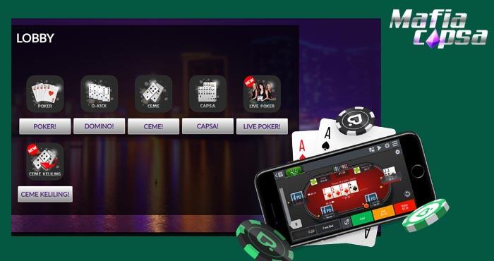 Memilih Permainan Poker Remi Terbaik