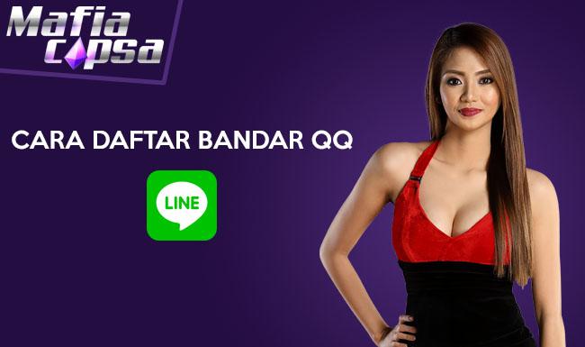 Cara Daftar Bandar QQ Online lewat LINE