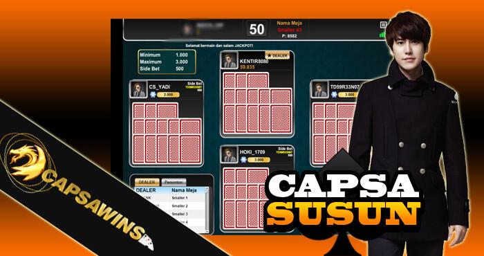 Cara Daftar Permainan Capsa Susun Online
