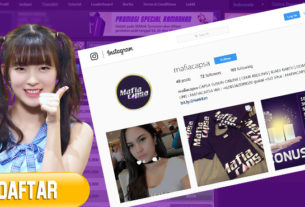 Cara Daftar Poker Remi Online lewat Instagram