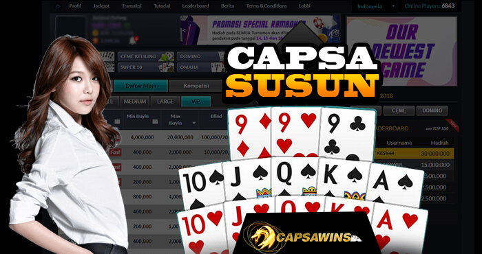 Situs Capsa Susun Online Capsawins Terlengkap