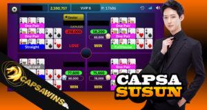 Permainan Populer Capsa Susun Online Uang Asli